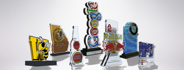 Sports Trophies Crystal Awards Acrylic Awards